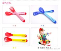 Wholesale Child tableware baby sucker bowl baby bowl slip resistant wall suction bowl puick soft head spoon fork set JIA202