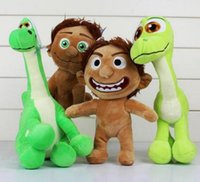 Wholesale Hot sale The Good Dinosaur Plush Toys Spot Movies Stuffed Animals Plush Doll Toys Kids Gifts For Christmas Gifts cm