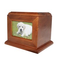 Wholesale Cheap Pet Wooden Urn Dog Urn Cat Urn for Ashes Box