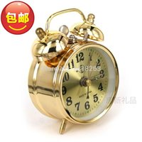 alarm clock manual - New Old fashioned clockwork alarm clock vintage wound up manual mechanical alarm clock metal movement