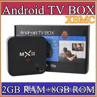 hdd media player - 100PCS MXIII K Amlogic S802 Android TV Box Smart TV Receiver Media Player GHz Quad Core Android Octa Core GB GB XBMC G TV