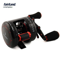 al casting - 9 BB GEAR RATIO BANDO saltwater trolling reel bait casting drum fishing reel AL HANDLE SPOOL AND SIDE COVER right hand