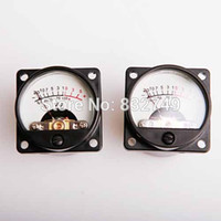 audio backing tracks - 2pcs Panel VU Meter DC AC V V Warm Back Light Recording Audio Level Amp with Driver order lt no track