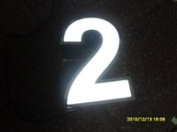 led house number acrylic house numbers - Factory Outlet Outdoor acrylic led house number stainless steel house numbers