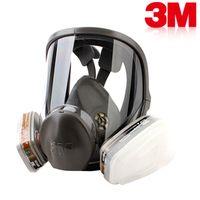 Wholesale 3M Respirator full facepiece reusable mask filter protection masks anti organic vapor seven set R82403