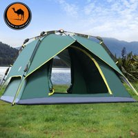 Wholesale CM R01 Spin camel outdoor automatic tent person multiplayer Double outdoor camping tent camping