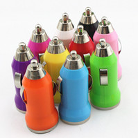 Wholesale USB Bullet Car Charger Colorful Universal Charger Adapter for Phone Iphone S G G