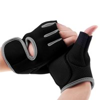 Wholesale Unbeatable Men Women Gym Body Building Weight Lifting Training Fitness Gloves Sports Exercise Dumbbell Workout Glove f east