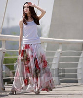 beach sf - Hottest Summer Ladies Slim Bohemia Casual Chiffon Dress Beach Maxi Elegant Smock Boho Exotic Halter SS SHYD SF