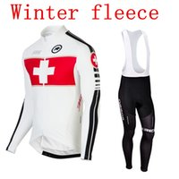 assos cycling - Cycling jersey ASSOS Winter thermal fleece white clothing wielertrui maillot cyclist ropa ciclismo Radtrikot Mountain Bike Equipment