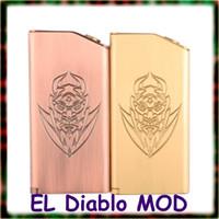 diablo - El diablo box mod mechanical mod Dual parallel Spring Switch thread T6 alloy grade Silver contacts Gift box OEM box
