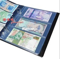 banknotes lot - 1509 rows per page mm mm money banknote album paper money transparent album for coins money money collection