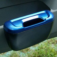 Wholesale Garbage bucket car eco friendly car glove bucket glove box storage box car glove box