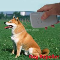 bark eliminator - Ultrasonic Bark Eliminator with LED Flashlight Dog Training Device