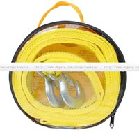 Wholesale Powerful car tow rope tow rope reflection fluorescence m t double thick off road vehicles with trailers