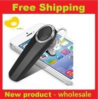 Cheap Q8 Mini portable Bluetooth headset earphone wireless handsfree stereo Bluetooth Headset Universal Ear hook Earphone For iPhone 5S SamSungnew