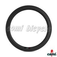 Wholesale Carbon Single Rim c mm Dept mm Wide Carbon Clincher Road Bike super Cheap