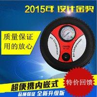 Wholesale Mini car pump V vehicle with electric pump supplies automotive tire pump pneumatic pump