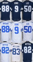 cowboys jerseys - Drop Ship Cowboys Men s Tony Romo Sean Lee Jason Witten Dez Bryant Stitched Jerseys Blue White
