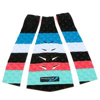 Wholesale 2Pcs Outdoor Surfboard Pads Deck Grip Tail Traction Pad EVA Super Light Grip Cover Surfing Equipment