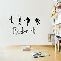 basketball quotes - 100 cm New Kids Basketball Letters Transprent Waterproof Vinyl Wall Quotes Decal PVC Home Decor Wall Stickers