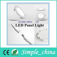 Cheap No LED Panel lights Best 85-265V 2835 smd2835 LED Panel lamp