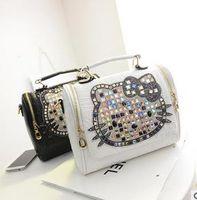 hello kitty tote bags - 2016 Hot sale Hello kitty Fashion classic women s handbag bucket bag totes bag K01