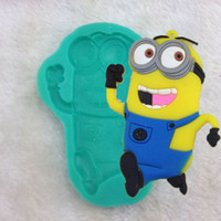 cupcake soap - 1pcs Despicable Me Minion Figures Silicone Soap Chocolate Mold Fondant Decoration Tool cookie cutter minions Cake biscuit Cupcake Toopers
