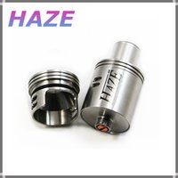 black jesus - E cigarette haze atomizer clone thread stainless black gold white haze rba tank fit for penny fuhattan knight skyline tarsius jesus mod