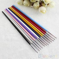 Wholesale Popular Nail Art Designer Pen Pencil Brush Painting Dotting Acrylic Tool MKU