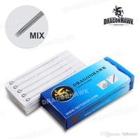 Wholesale Dragonhawk Tattoo Disposable Needles Kits assorted mix sizes supply WSZ