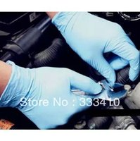 bicycle chain oil - Bicycle latex long gloves mountain bike chain cleaning gloves oil chain gloves pairs