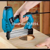 Wholesale Efficiency fastest electric nail gun Impact force adjustable both U nail T dual household power tool