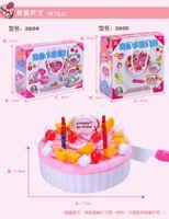 dollhouse miniature - Creative Pretend Play Birthday Cake For Dollhouse Miniature Accessories Perfect Doll House Miniature Girl Toys