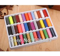 Wholesale Sewing Polyester Thread Yards Each Spool Different Colors New DIY