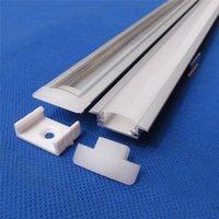 aluminum - 10set led aluminium profile for led bar light led strip aluminum channel waterproof aluminum housing Sunny Wood YD