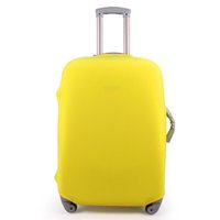 Wholesale 20 quot quot quot Outdoor Travel Luggage Suitcase Protective Cover Elastic Luggage Cover Prevent From Ash Dust