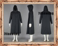 Wholesale New Cosplay anime Naruto dark clothing generation Cosplay mens black cloak