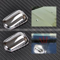 ford caps - CHROME WINDSHIELD WASHER WIPER WATER SPRAY NOZZLE COVER CAPS FOR Ford Kuga Escape CA01924