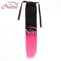 Cheap Brazilian Hair clip in hair Best Natural Wave 5A Grade, Top Quality Virgin Remy Hair ponytail