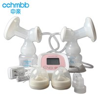 Wholesale Pro bilateral electric breast pump Intelligent LCD automatic milking breast pump breast pump mute