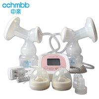 Wholesale Pro bilateral electric breast pump Intelligent LCD automatic milking breast pump breast pump mute