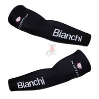 Arm Warmers bianchi mtb - 2015 bianchi Pro Team Breathable Cycling Sport Armwarmer Summer MTB Bike Armwarmer Black Quick Dry Racing MTB Bicycle Ciclismo Armwarmer