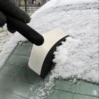 Wholesale Mini Auto Car Vehicle Snow Ice Shovel Scraper Removal Clean Tool Black JH3