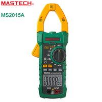 autorange capacitance meter - MASTECH MS2015A AutoRange Digital AC A Current Clamp Meter True RMS Multimeter Frequency Capacitance Tester NCV