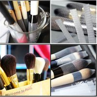 Wholesale Fashion Hot White Make Up Cosmetic Brushes Guards Most Mesh Protectors Cover Sheath Net Without Brush