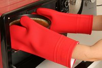 silicone oven glove - 2PCS New Quality Germany Brand Silicone Oven Gloves Heat Resistant Kitchen Oven Gloves For Baking