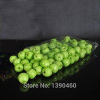 artificial fruit - Artificial Lifelike Mini Green Apple Fake Fruit Model Party Home Decor Teaching Props Child Education