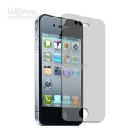clear Screen Protector Guard pour iphone 4 4S 1000 avant + 1000 de retour pas de détail d'emballage 2000pcs/lot
