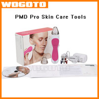 beauty skin care equipment - 2016 Personal PMD Pro Skin Care Tools Beauty Equipment Device Microderm Portable Professional Trinity Pro Mia Facial Cleanser DHL